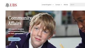 UBS Homepage Revamp 2014