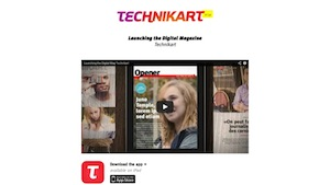 Technikart,  Launching the Digital Mag